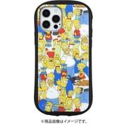 SIM-02A [iPhone 12/12 Pro用 ハイブリッドガラスケース ザ・シンプソンズ 総柄]