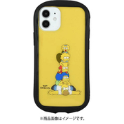 SIM-03A [iPhone 12 mini 用 ハイブリッドクリアケース ザ・シンプソンズ 集合]