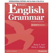 Basic English Grammar 4th Edition: SB w/ CD and Answer Key [洋書ELT]