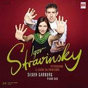 ストラヴィンスキー:ペトルーシュカ LP シルバー・ガルブルク・ピアノデュオ BC-0300669 [クラシックCD 輸入盤]