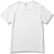 ファインドライ ショートスリーブクルー SHORT SLEEVE CREW MX11309 ホワイト(W) Sサイズ [アウトドア カットソー メンズ]