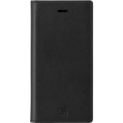 GBCIG-IP09BLK [Italian Genuine Leather Book Case for iPhone SE(第2世代)/8/7 BK]