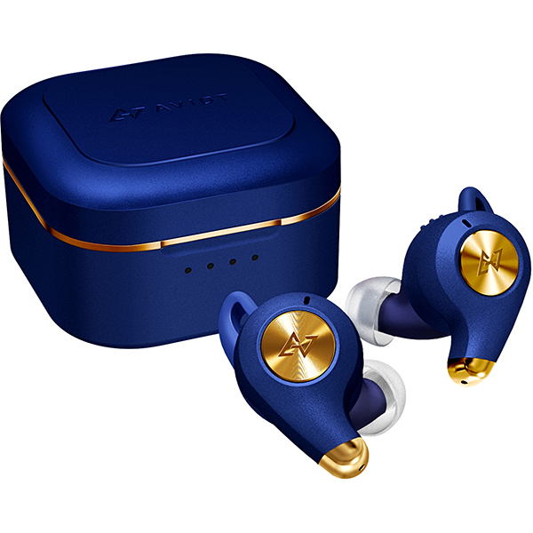 TE-D01q-BL [AVIOT トゥルーワイヤレスイヤホン Lapis Blue]