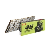 525VR46 ROSSI MODEL‐120ZB SILVER&GOLD カラー:SILVER&GOLD サイズ:120L [バイク用チェーン]