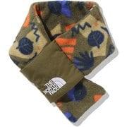キャンベルフリースマフラー Baby Camp-bell Fleece Muffler NNB72101 フォレストパークオリーブ(FO) [アウトドア 小物 キッズ]