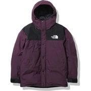 マウンテンダウンジャケット Mountain Down Jacket ND91930 BW Mサイズ [アウトドア ダウンウェア メンズ]