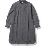 インヨーロングシャツ Inyo Long Shirt NRW62160 ミックスチャコール(ZC) Sサイズ [アウトドア シャツ レディース]