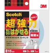 SRR15 [スコッチ 両面テープ 粗面用 15mm×3m]