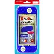 SWF2342 [Switch Lite用 本体保護カバー シリコンプロテクタ SWLite ディープブルー]