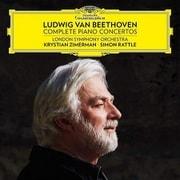 ベートーヴェン:ピアノ協奏曲全集 3枚組 ツィメルマン/ラトル DG-483 9971 [クラシックCD 輸入盤]