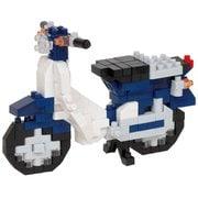 NBC_356 nanoblock(ナノブロック) Honda スーパーカブ50 ブルー [対象年齢:12歳~]