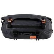 DBT511-BK [バイク用ターポリンツーリングドラムバッグ (バイク専用・防水ツーリングバッグ) 容量30L 専用固定ベルト・ショルダーベルト付き ブラック]