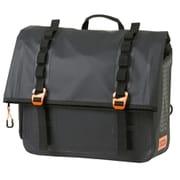 DBT606-BK [バイク用ターポリンサドルバッグWP(アメリカン&クルーザー専用防水サドルバッグ) ブラック]