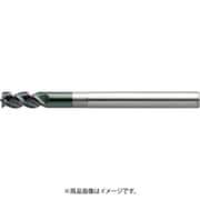 DLC-AZS3090-270 (274-9090) [ユニオンツール 3枚刃DLCコートロングネックスクエア 外径9×有効長27×刃長18×全長90]