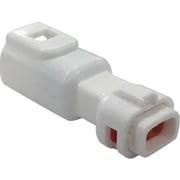 P-CB01A5-02N0-02 [TRUSCO 防水コネクタ プラグハウジング (10個入)芯数2 被覆外径Φ1.3~1.7 白]