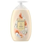 ジョンソンボディケア アロマミルク エクストラケア ボディローション ローズとジャスミンの香り 単品 ポンプ 500ml