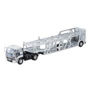 LV-N225b 1/64 いすゞ 810EX カートランスポーター 銀 アンチコASZ022車両運搬トレーラ [ダイキャストミニカー]