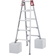 RYZ-15B [ハセガワ 脚部伸縮式アルミはしご兼用脚立 RYZ型 5段]