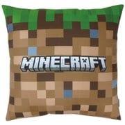 Minecraft (マインクラフト) 背当てクッション 草ブロック [キャラクターグッズ]