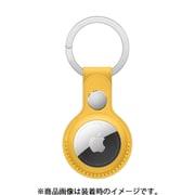 AirTagレザーキーリング マイヤーレモン [MM063FE/A]