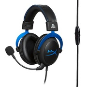 HXR-HSCLS-BL/AS [HyperX Cloud ゲーミングヘッドセット PlayStation公式ライセンス PS5/PS4対応 インライン音量コントロールBox付属 2年保証]