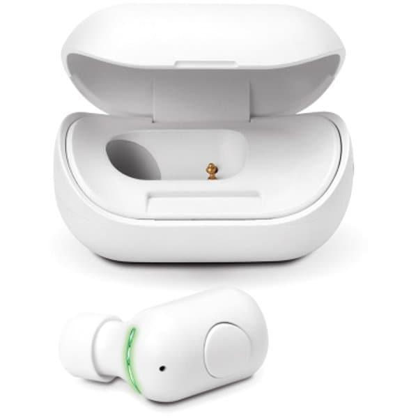 PG-BTE13BC2WH [片耳ワイヤレスイヤホン Bluetooth 5.0搭載 充電ケース付 ホワイト]