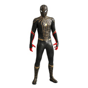 ムービー・マスターピース スパイダーマン: ノー・ウェイ・ホーム スパイダーマン (ブラック&ゴールドスーツ版) [塗装済可動フィギュア 全高約290mm 1/6スケール]