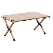 SMOrsRT001a ベージュ [Woodi Roll Table 90]