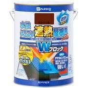 水性シリコン遮熱屋根用 あかさび 3L