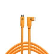 CUC15RT-ORG [TetherPro USB-C to USB-C Right Angle オレンジ]
