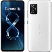 ZS590KS-WH128S8 [ZenFone 8(ゼンフォン エイト)/Android 11(ZenUI)/5.9インチ/メモリ8GB/ストレージ128GB/ムーンライトホワイト/SIMフリースマートフォン]