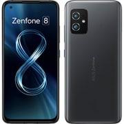 ZS590KS-BK256S8 [ZenFone 8(ゼンフォン エイト)/Android 11(ZenUI)/5.9インチ/メモリ8GB/ストレージ256GB/オブシディアンブラック/SIMフリースマートフォン]