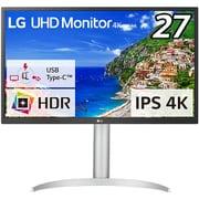 27UP550-W [27型 4K(3840×2160)モニター/HDR/USB Type-C/PD 最大96W/超解像度技術/AMD FreeSync/DASモード/高さ調整/ピボット/ブルーライト低減/フリッカーセーフ対応]