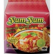 yumyum インスタントラーメン トムヤムシュリンプ味 70g×5食パック