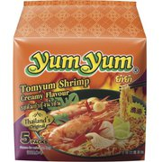 yumyum インスタントラーメン トムヤムシュリンプクリーム味 70g×5食パック