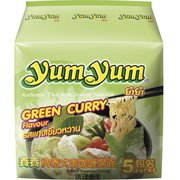 yumyum インスタントラーメン グリーンカレー味 70g×5食パック