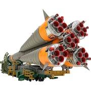 MODEROID 1/150 ソユーズロケット+搬送列車 (再販) [組立式プラスチックモデル 全高約320mm 1/150スケール]