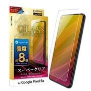 LP-21SP1FGDX [Pixel 5a用 ガラスフィルム GLASS PREMIUM FILM スタンダードサイズ スーパークリア 8倍強度]