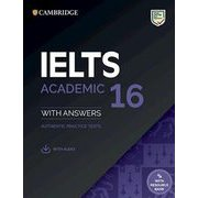 IELTS 16 Academic SB with answers with Audio with Resource Bank [洋書ELT]