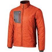 ポリゴン2ULジャケット FIM0301 フレイムオレンジ Sサイズ [アウトドア ジャケット メンズ]