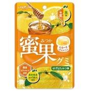 蜜果グミ ゆずはちみつ味 34g