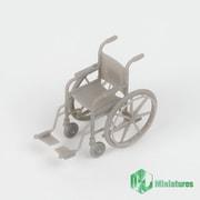 MJEZ35021 1/35 ディティールアップパーツ ジオラマアクセサリー 車椅子 [プラモデル用パーツ]