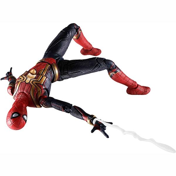 S.H.Figuarts スパイダーマン 【インテグレーテッドスーツ】 (スパイダーマン:ノー・ウェイ・ホーム) [塗装済可動フィギュア 全高約150mm]
