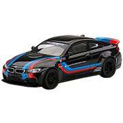 MGT00306-MJ 1/64 LB★ワークス BMW M4 ブラック/Mストライプ 左ハンドル [ダイキャストミニカー]