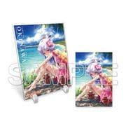 Angel Beats! 旅する天使ちゃん アクスタ&ポストカード2 沖縄県 [キャラクターグッズ]
