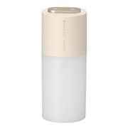 GH-PHWC-BE [ポータブル充電式加湿器 ダブルミスト USB充電対応 ベージュ]