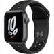 Apple Watch Nike SE(GPSモデル)- 40mmスペースグレイアルミニウムケースとアンスラサイト/ブラックNikeスポーツバンド [MKQ33J/A]