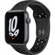 Apple Watch Nike SE(GPSモデル)- 44mmスペースグレイアルミニウムケースとアンスラサイト/ブラックNikeスポーツバンド [MKQ83J/A]