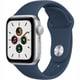 Apple Watch SE(GPSモデル)- 40mmシルバーアルミニウムケースとアビスブルースポーツバンド [MKNY3J/A]