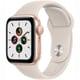 Apple Watch SE(GPSモデル)- 40mmゴールドアルミニウムケースとスターライトスポーツバンド [MKQ03J/A]